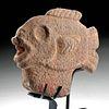 Rare / Fine Maya Stone Hacha - Fish Form
