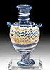 Stunning Greek Core Form Glass Amphoriskos