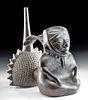 Lambayeque Pottery Shaman Whistle Vessel w/ TL