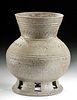 5th C. Korean Silla Kingdom Pottery Kobae Vase
