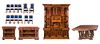 Royen 1896 Carved Paris Exposition Dining Room Set