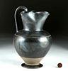 Tall / Fine Greek Apulian Pottery Trefoil Oinochoe