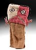 Chancay Polychrome Textile & Reed Doll