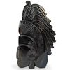 Obsidian Carved Mayan Figurine