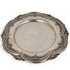 Sterling Silver Footed Tray