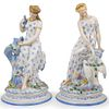 Pair of Continental Porcelain Figurines