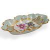 Limoges Porcelain Floral & Gilt Dish