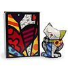 "Romero Britto (Brazilian, b. 1963) ""Happy Cat"" Figurine"
