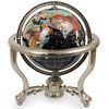 Handcrafted Semi-Precious Stone Globe