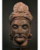 SUPERB GANDHARA HEAD OF BUDDHA
