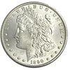 1890 Morgan Silver Dollar Coin
