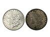 1878 and 1897 Morgan Silver Dollar Coin Lot