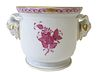 Herend Chinese Bouquet Raspberry Porcelain Vase