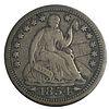 1854 Half Dime Coin