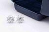 Harry Winston Platinum Diamond Stud Earrings