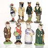 8 BESWICK ENGLISH COUNTRY FOLK FIGURINES