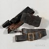 Group of Civil War-era Leather