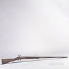 Model 1816 Conversion Cut-down Flintlock Musket