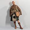 Canadian Highlander Uniform on a Mannequin
