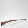 F.A. Crescent Co. Double-barrel 12-gauge Hammer Shotgun