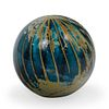 Signed Art Glass Paperweight