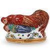 Antique Limoges Porcelain Pill Box