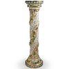 Capodimonte Porcelain Pedestal