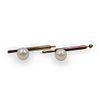 Pair Gold and Pearl Cufflinks