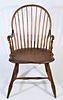 Hand-Crafted Windsor Arm Chair