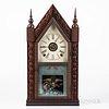 J.C. Brown Ripple-front Beehive Clock