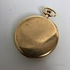 14kt Agassiz Open-face Pocket Watch Signed Tiffany & Co.
