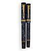 (2 Pc) 18k Gold Parker Pens