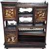 Japanese Mother of Pearl Inlaid Etagere