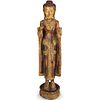 Thai Gilt Wood Decorative Buddha Statue
