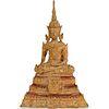 Small Gilt Bronze Buddha