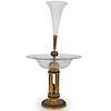 Gilt Bronze & Glass Mounted Vase
