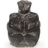 Inuit Signed Stone Statue