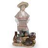 Lladro Mexican Porcelain Figurine
