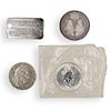 (4 Pc) Collection Of Silver Coins