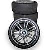 "(4 Pc) Bentley Chrome 20"" Wheel Set"