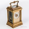 Gilt French Carriage Clock