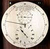 C.R. Railroad Mahogany Astronomical Floor Regulator