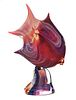 DINO ROSIN, Murano Art Glass Fish, Signed