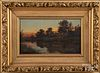 Charles Grant Beauregard oil on canvas sunset