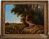 Howard Hill oil on canvas