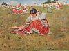 Joza Uprka  (Czech, 1861-1941) Women in Field