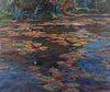 Emile Albert Gruppe (American, 1896-1978) Lily Pond