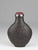 Rare Duan Stone 'Dragon' Snuff Bottle
