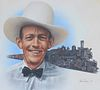 """Gene Boyer (20th C.) """"Jimmie Rodgers"""""""