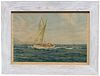 Montague J Dawson (1890 - 1973) Framed Print